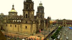 A beleza da catedral mexicana.