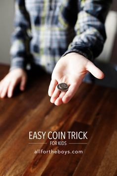 Easy coin trick for kids