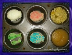 Crystal's Ramblings: One Fish, Two Fish, Red Fish, Blue Fish Muffin Tin!