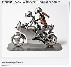 zakochani na motorze Metalowa figurka na prezent