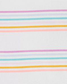 Rainbows Yay OshKosh BGosh Baby Girls Peplum Tee
