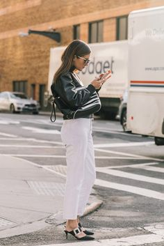 M's: Street Style | New York Fashion Week