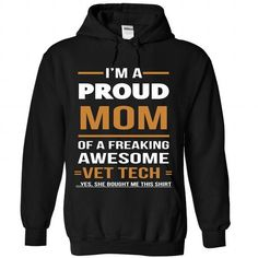 VET TECH MOM T Shirts, Hoodies. Get it now ==► https://www.sunfrog.com/No-Category/VET-TECH-MOM-4173-Black-Hoodie.html?57074 $36.99