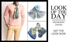 Steal his Style for less!  Explore our latest collection of scarves and shop till you drop!   #lookoftheday #fashion #men #shopping #Shingora #Wednesday