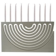 Cut-out Menorah by Sari Srulovitch Product - The Jewish Museum Shops