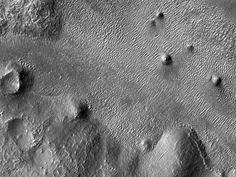 HiRISE Image: Round Mounds Near the Argyre Region on Mars