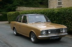 1970 Ford Cortina 1600E owned 1 same colour never made it on the road to much rust not enough time