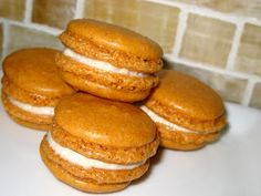 pumpkin spice macaroons