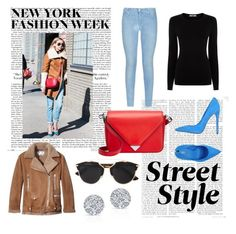 """Day Three: Street Style NYFW."" by gabbygerman ❤ liked on Polyvore featuring 7 For All Mankind, Oasis, Le Silla, Alexander Wang, Acne Studios, Christian Dior, women's clothing, women, female and woman"