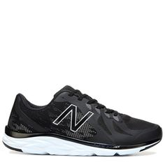 New Balance Men's 790 V6 Medium/X-Wide Running Shoes (Black/White) - 10.5 4E