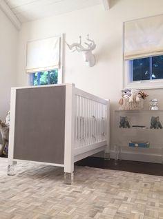 Boys Nursery - cambas + co. acrylic crib
