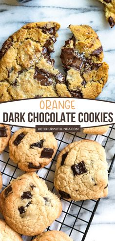 This homemade orange chocolate recipe is a delicious dessert your family will enjoy! This cookie recipe is so easy to follow and requires ingredients you already have at home. A bright, sunny, and refreshing feeling in a bite! Make this in summer! Delicious Cookie Recipes, Easy Cookie Recipes, Best Dessert Recipes, Yummy Cookies, Fun Desserts, Sweet Recipes, Bar Recipes, Holiday Desserts, Family Recipes