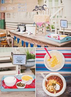 Wild West Cowboy Party-- I like the idea of serving chili so fun.