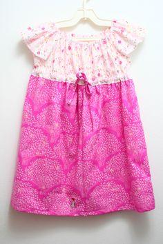Dress Sarah Jane fabric - Wee Wander