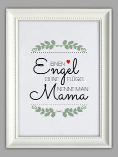 Sehe dir das Foto von Bluemchen mit dem Titel Schöner Spruch als Geschenk zum Muttertag zum Beispiel und andere inspirierende Bilder auf Spaaz.de an.