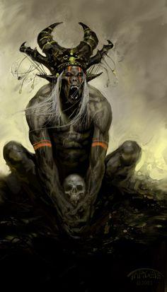 Colossal do Bosque Encantado (Livro 1): Orc têm habilidades iguais a de um gorila com a força de 60 homens.