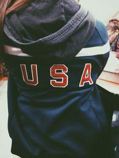 USA Jacket // colder days