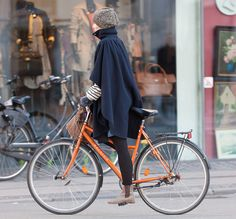 Caped Bike Style