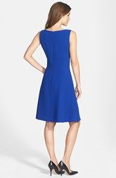 Tahari Sleeveless Fit & Flare Dress (Online Only)
