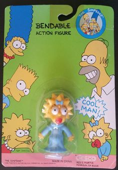 THE SIMPSONS FAMILY COLLECTABLE FIGURES 100/% OFFICIAL NEW FOX FILM PACK
