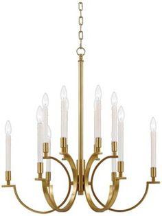 Illuminations Collection Century Brass Chandelier  http://www.eurostylelighting.com/eun5583.htm