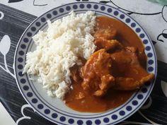 Curry de porc rapide (cocotte minute) : Recette de Curry de porc rapide (cocotte… Cocotte Minute Tupperware, Porc Au Curry, I Want To Eat, Instant Pot, Cooker, Food And Drink, Meat, Chicken, Fruit