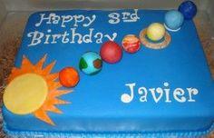 planet birthday cake - Google Search