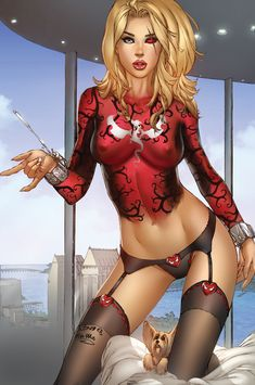 Zenescope GFT Robyn Hood #5, pencils: EBas by ulamosart