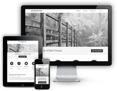 Minimum Pro Responsive WordPress Portfolio Theme