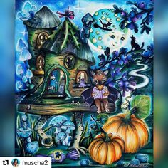 Markova, Prismacolor, Art Boards, Coloring Books, Fairy, Photo And Video, Amazing, Celebrations, Painting
