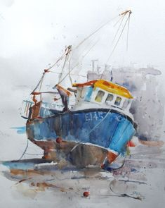 Watercolour Artists Gallery - Roger Simpson