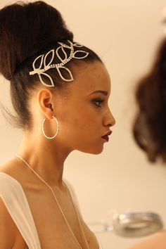 best bridal harido with hair accessories by Patrick Cameron