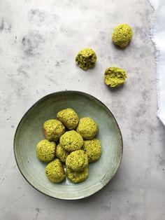 Grønne ovnbagte falafler