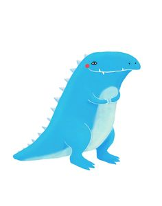 cute tyrannosaurus rex by lulufroot