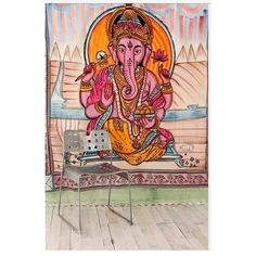 Ganesha Tapestry - UO Cool Ganesha Tapestry Urban Outfitters Other