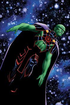 dangerouslycoolcomics:  Martian Manhunter 11 by John Romita Jr.// DC Comics   * - Visit to grab an amazing super hero shirt now on sale