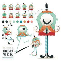 11 extremidades del arte del carácter de 11 principales ilustradores - Artes Digitales