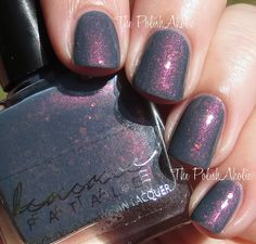 Femme Fatale Cosmetics Swatches