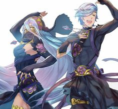 Fire Emblem: Fates - Azura and Shigure