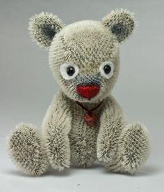 Mohair bear.