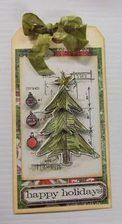 Classic Hobbies Projects- Tim Holtz dies/stamps
