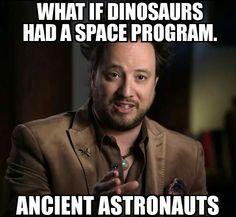 Dinosaurs space program