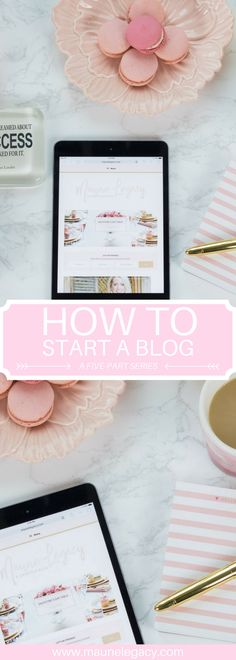 This how to start a blog guide includes 10 action steps for starting a successful blog including tips for SEO, social media, and monetizing your blog.