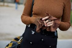 The ribbed pullover goes from staple to | WEBSTA - Instagram Analytics