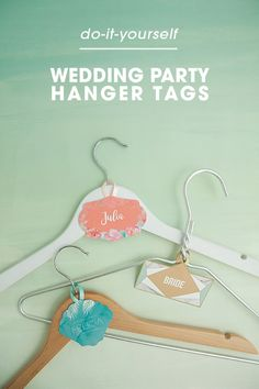 You must make these printable bridal party hanger tags bridal you must make these printable bridal party hanger tags wedding craftsdiy solutioingenieria Images