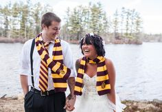 Harry Potter Wedding | Mon Petit Studio | blog.theknot.com Wedding Planner, Great Stories, Hats, Birthday Cake, Harry Potter, Film, Ideas, Storytelling, Fashion