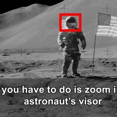 NASA should've looked TWICE before posting these images of the Apollo Moon missions