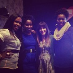 Met up with @mindyweiss and @cassandresnyder at #loverly #loverlylounge @Jacqueline Nwobu @Eronmwon Balogun