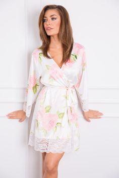72fea6bba5 Ava Floral Robe bridal robe by Homebodii