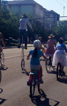 Unicyclist! #tourdefat